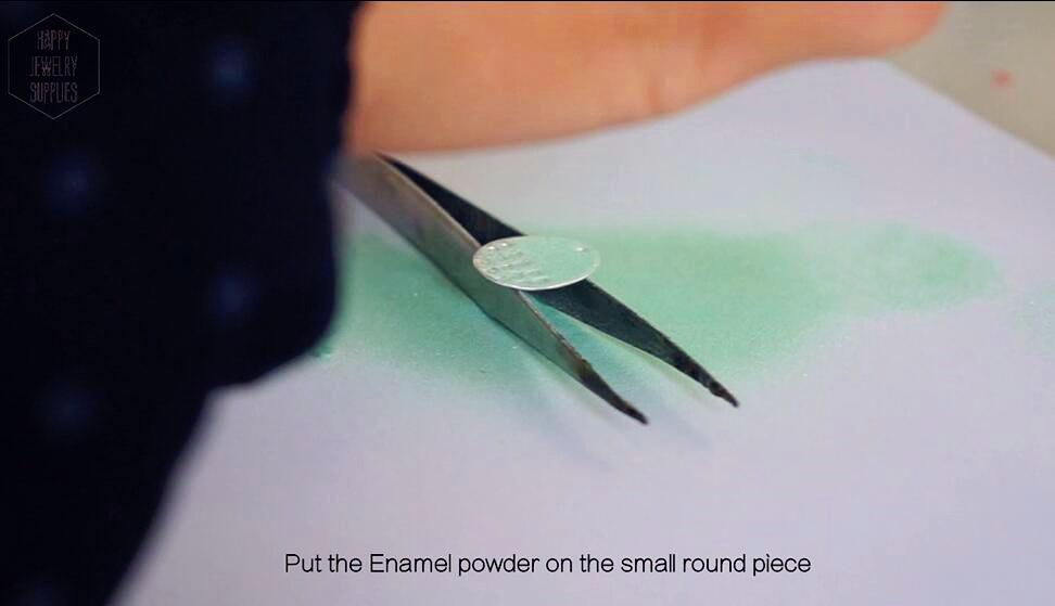 Picture of Making Enamel Earrings