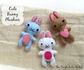 DIY Cute Felt Bunnies