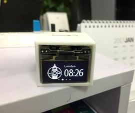 Make a WIFI World Clock 2