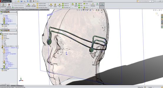 3D Model of the Headset That Actually Fits