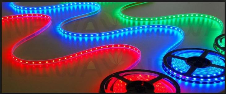 Picture of RGB LED Strip Light Control
