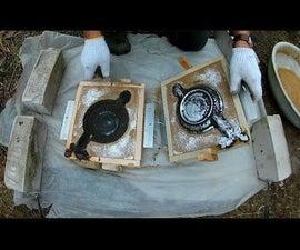 Casting Aluminum. a Saucer