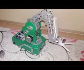 Arduino Nema17 Robot Kol(Kayıt Yapabilen)