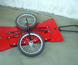 Foldable Bike Cart (carrito Plegable Para Bici)