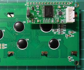I2C LCD Controller Module