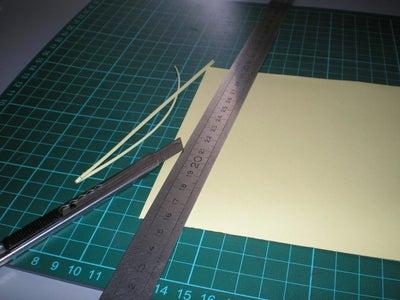 Arrange Borders and Glue / Arregla Los Bordes Y Pega