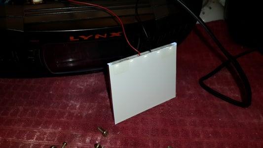 Atary Lynx II - LED Backlight Install