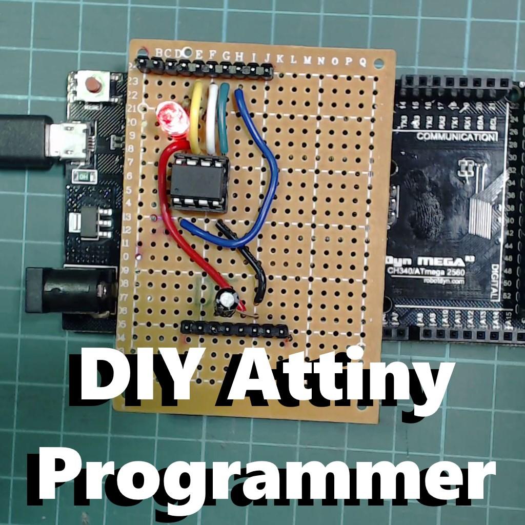 Picture of DIY Attiny Programming Shield