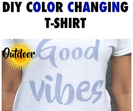 DIY Color Changing T-shirt