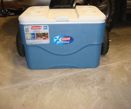 Big Wheel Beach Cooler