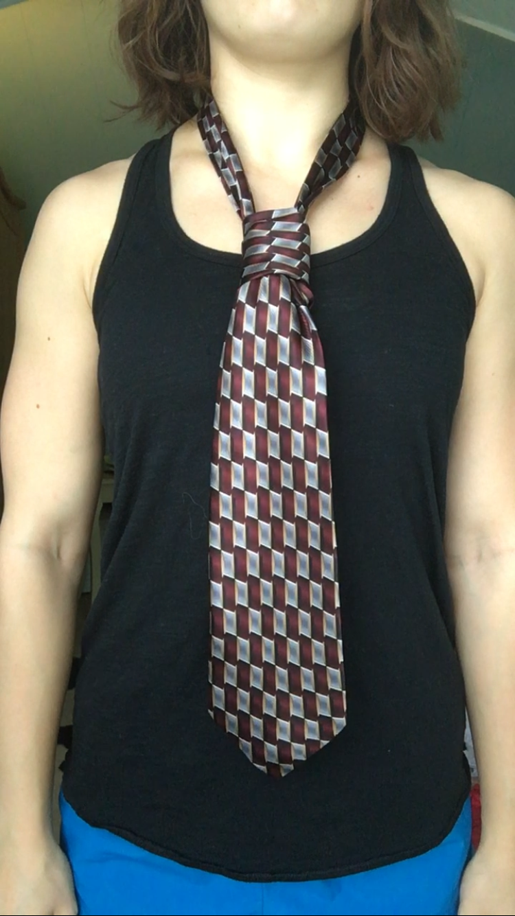 Picture of Tying a Tie