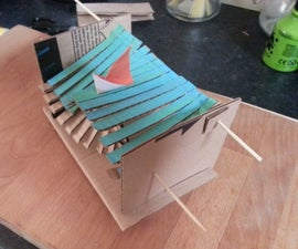 Cardboard Mechanical Wave Toy