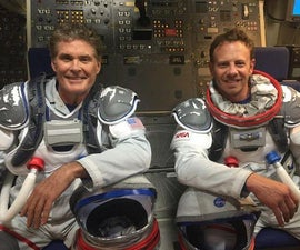 How to Send David Hasselhoff and Ian Ziering Into Space to Fight Sharks for $150