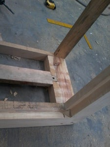 Building Second Frame and Internal Sctructure for the Boxes