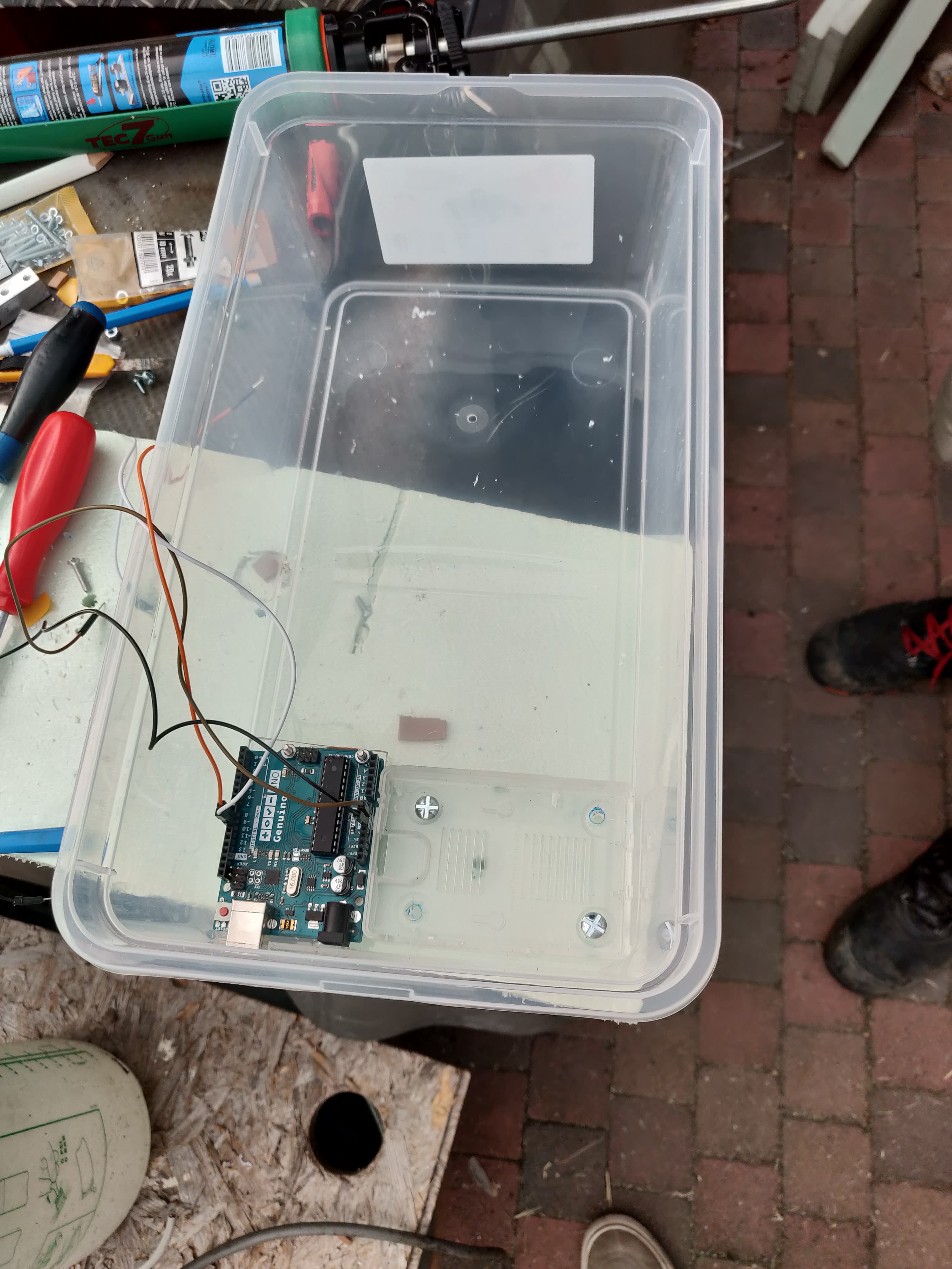 Picture of  the Top Box