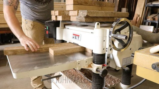 The Base  : Cut Lumber Down to Rough Size