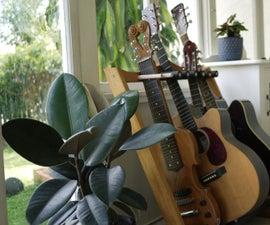 Timber Guitar Stand