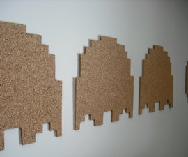 Pac-man Cork Board