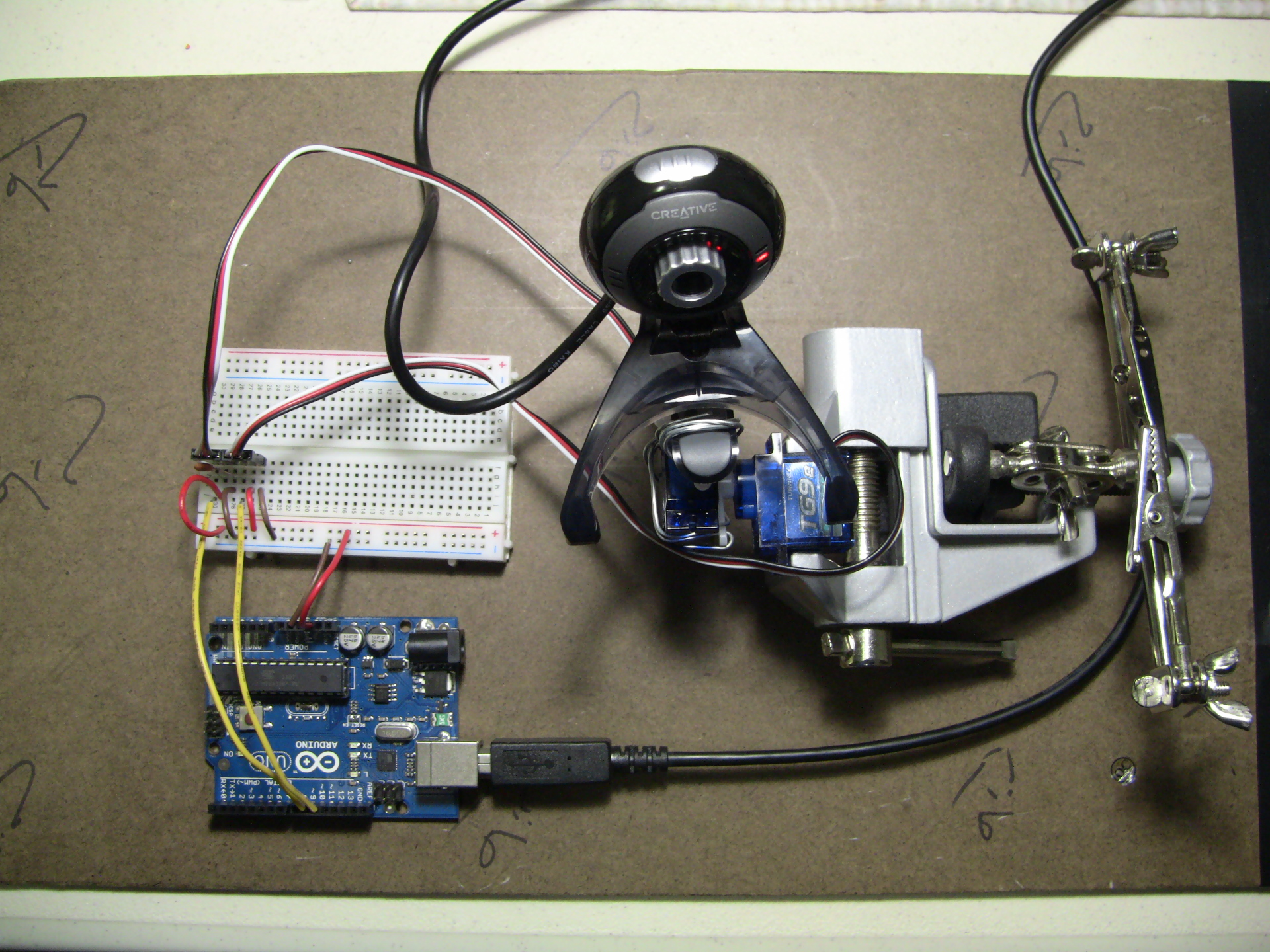 Face Detection and Tracking With Arduino and OpenCV: 4 Steps