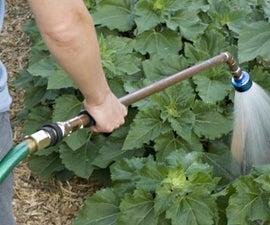 Make a sturdy garden watering wand.
