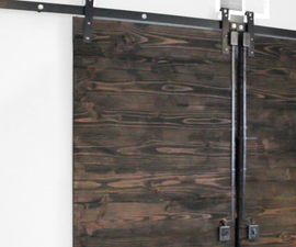 Double Rustic Barn Doors (From Framing Lumber)