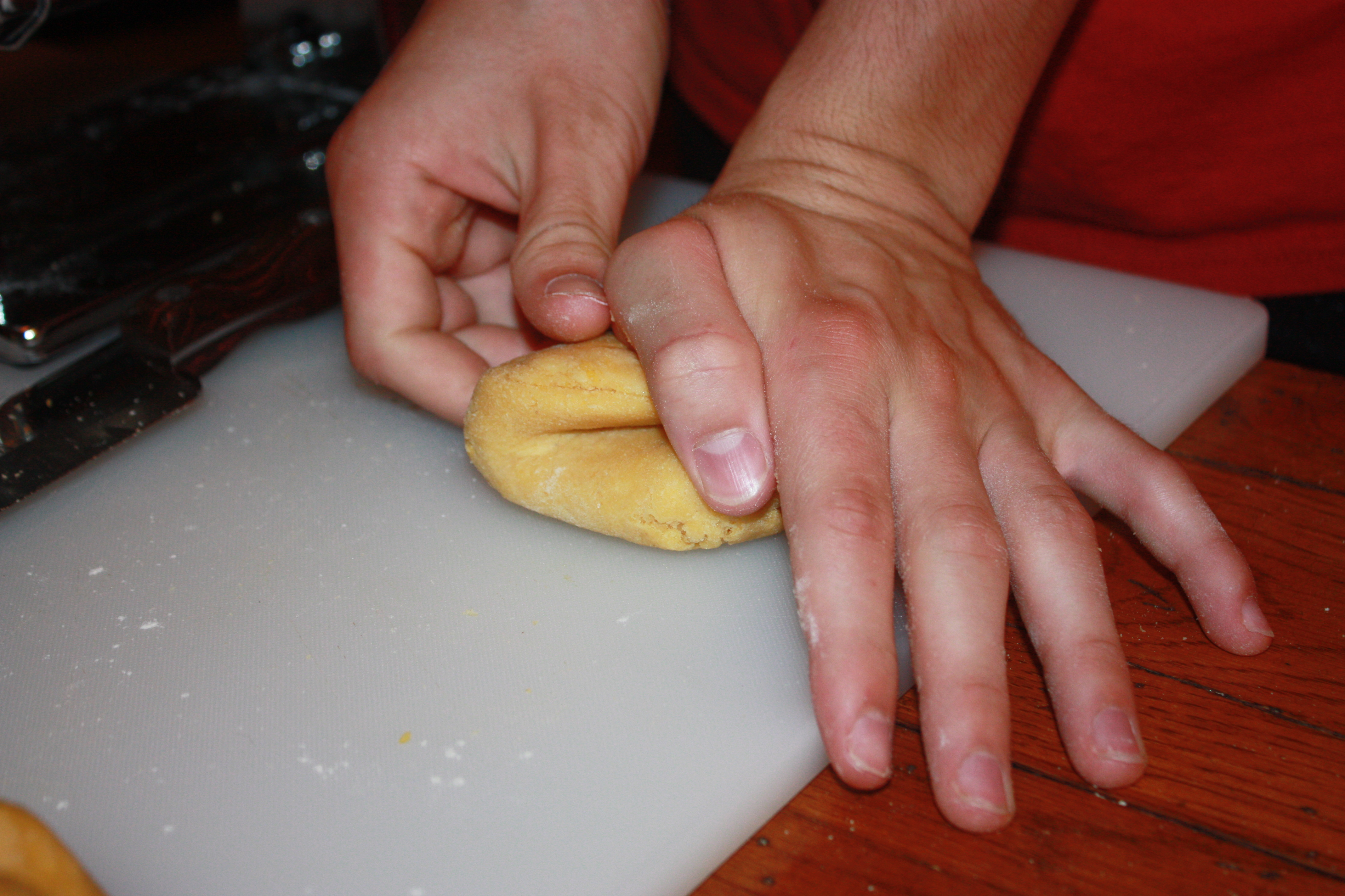 Picture of Kneading and Water