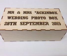 Wedding Photo Box Gift