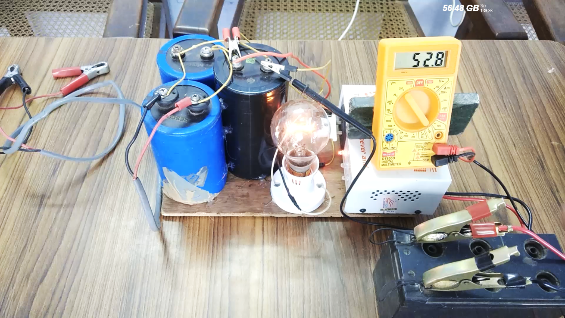 Picture of Connecting Drill Machine & Battery :