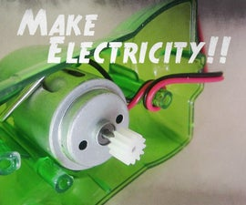 How To Make Electricity!