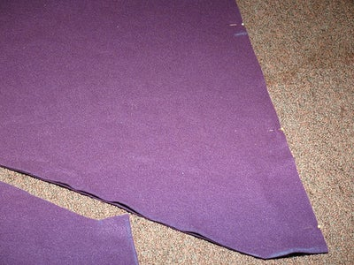 Pinning the Top and Bottom Edges for Sewing