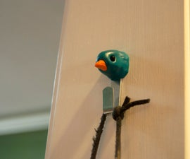 cover up a bare picture hook with sugru