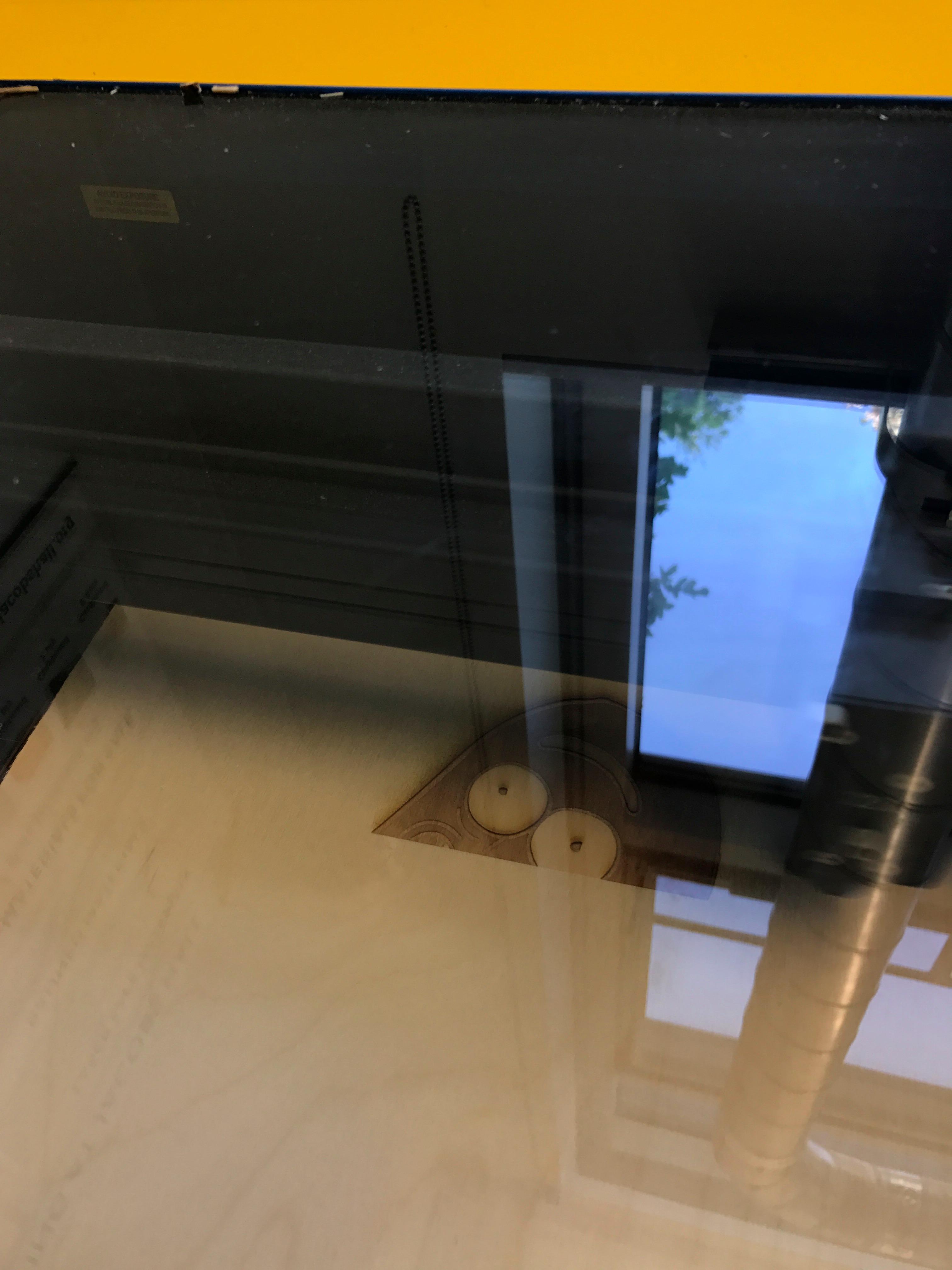 Picture of Preparing in Laser Cutter
