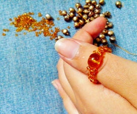 Make Your Own Seed Bead Ring