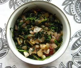 Gluten Free Stir-fried Amaranth Greens