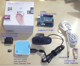 Smart home automation webserver on OpenWRT router WR703N interfaced to Arduino, compared to Raspberry Pi and Ubuntu