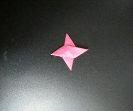 Basic 4-pointed Ninja Star
