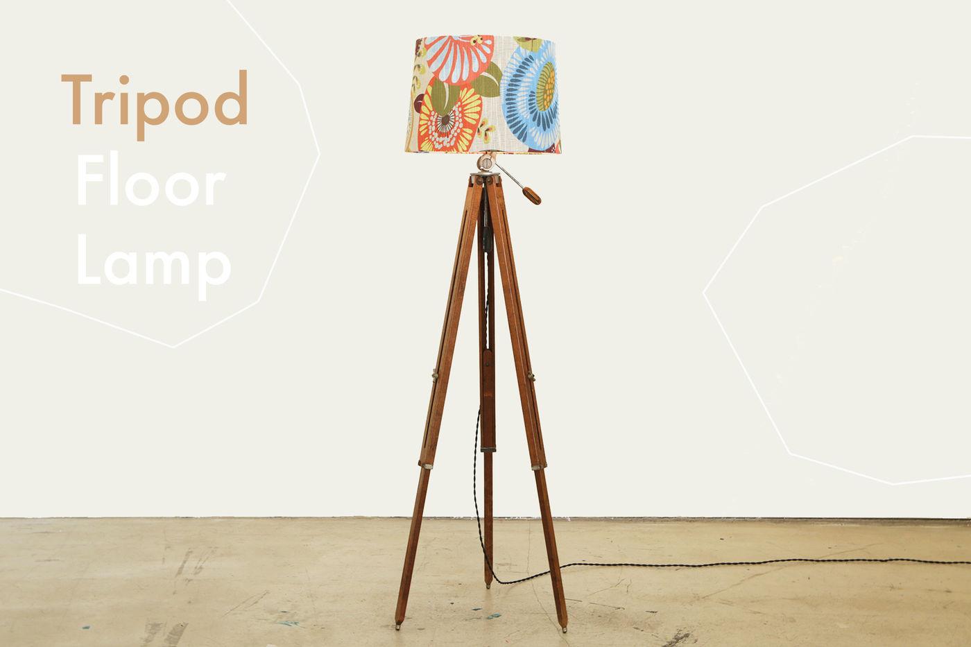 Bonus: Tripod Floor Lamp