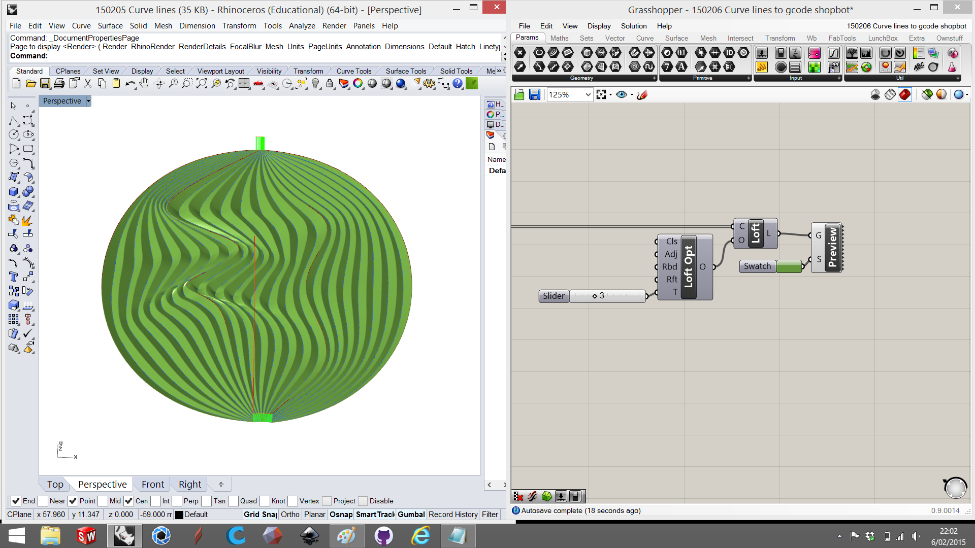 Picture of Example 2: Curvy Lines