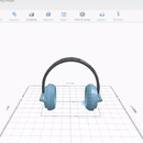 Designing Headphones 3D Model in SelfCAD