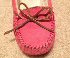 How To Tie Your Moccasin Perfectly