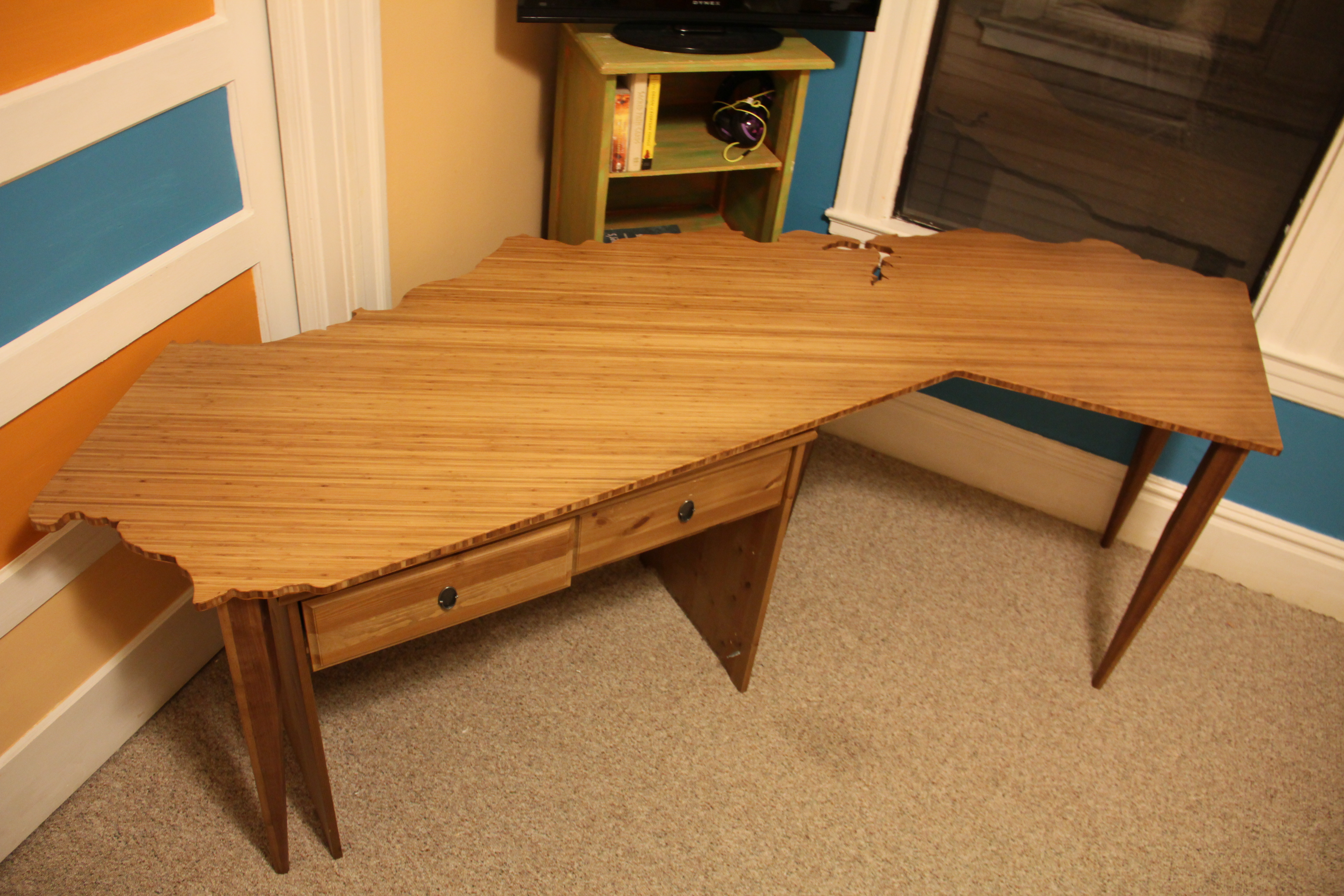 Picture of Plyboo California Desk