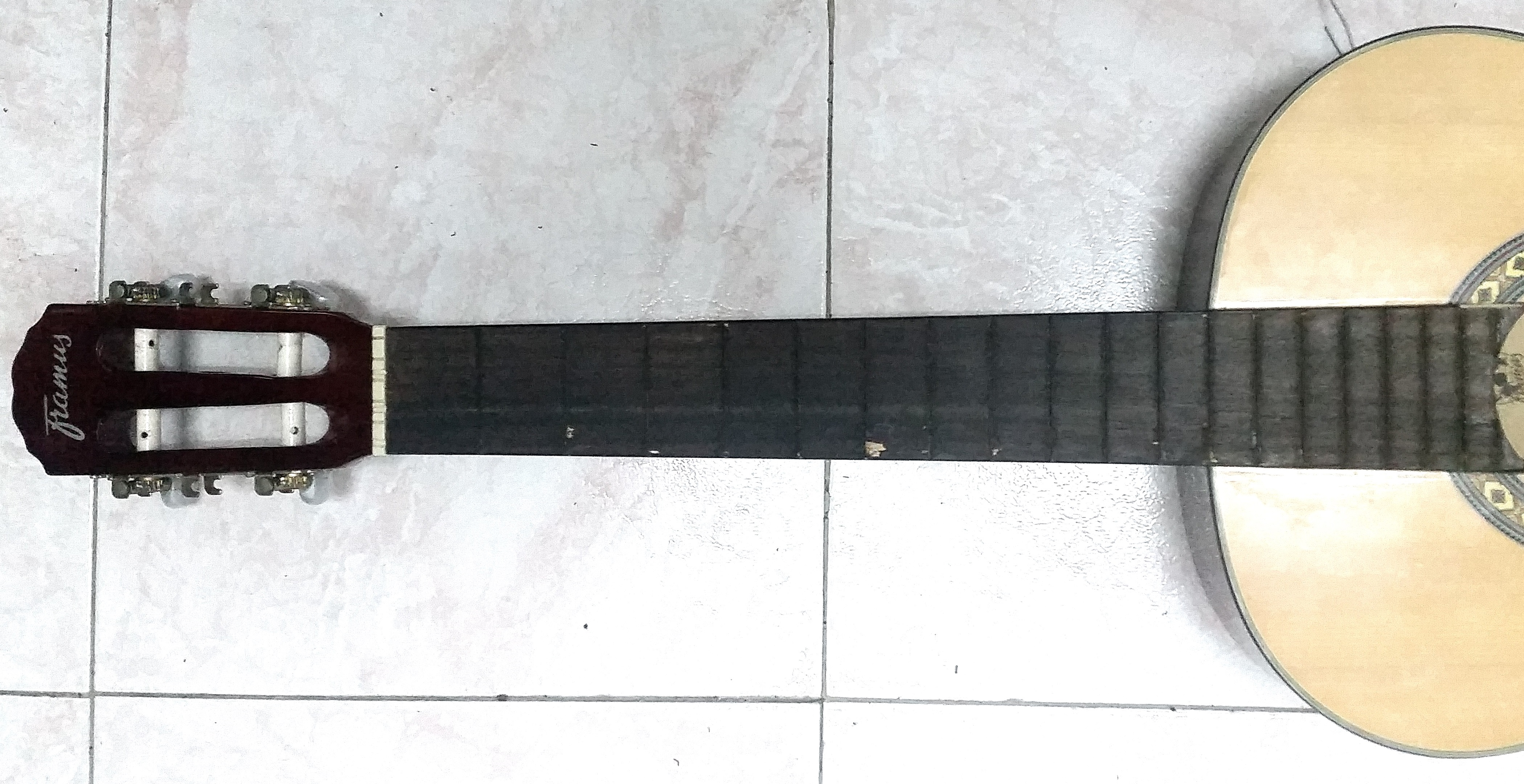 Picture of Frets Placement Method