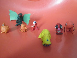 How To Make A Clay Monster 8 Steps Instructables