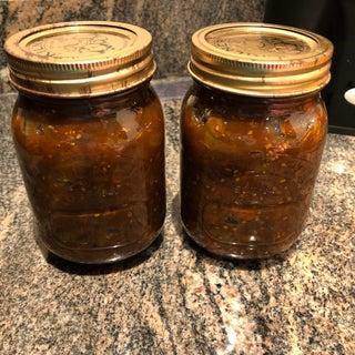 Gran's Green Tomato Chutney