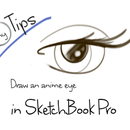 Tiny Tips : Draw an anime eye in SketchBook Pro