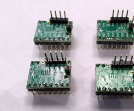 Upgrading RAMPS 1.4 With TMC2130 Stepper Drivers