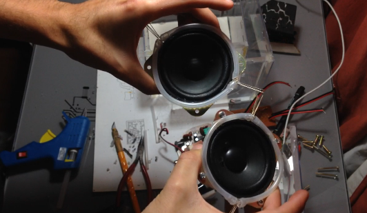 Picture of Making the Speakers Look Cool