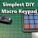 The Simplest DIY Macro Keypad