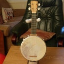 How to make a ukulele, banjolele, banjo ukulele, guitar stand.
