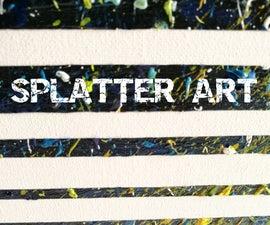 High Concept Splatter Art [FAIL]